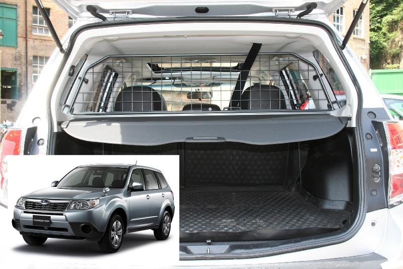 Koiraverkko Subaru Forester (SH) 2008-2013, kattoluukulla