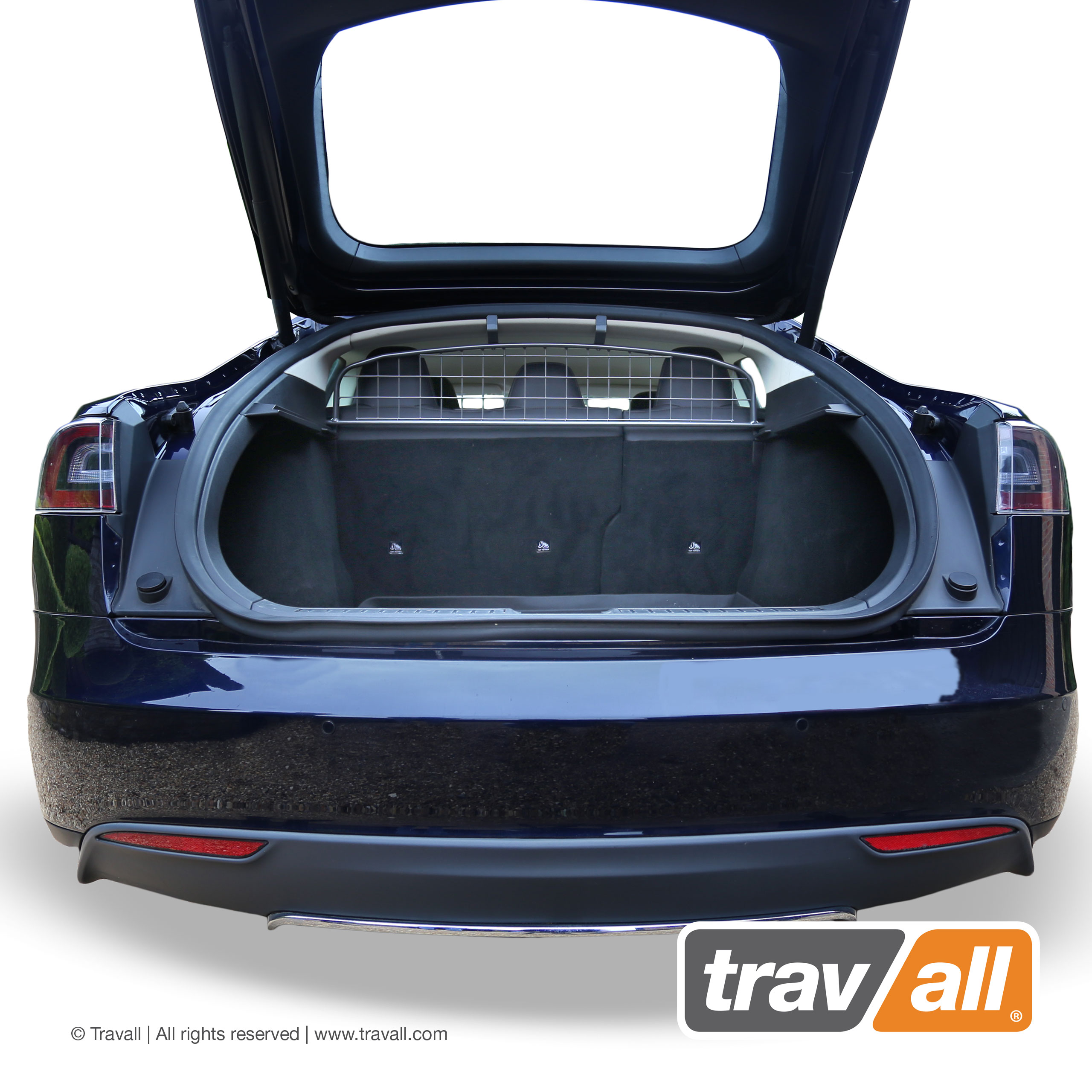 Koiraverkko Tesla Model S 2012-