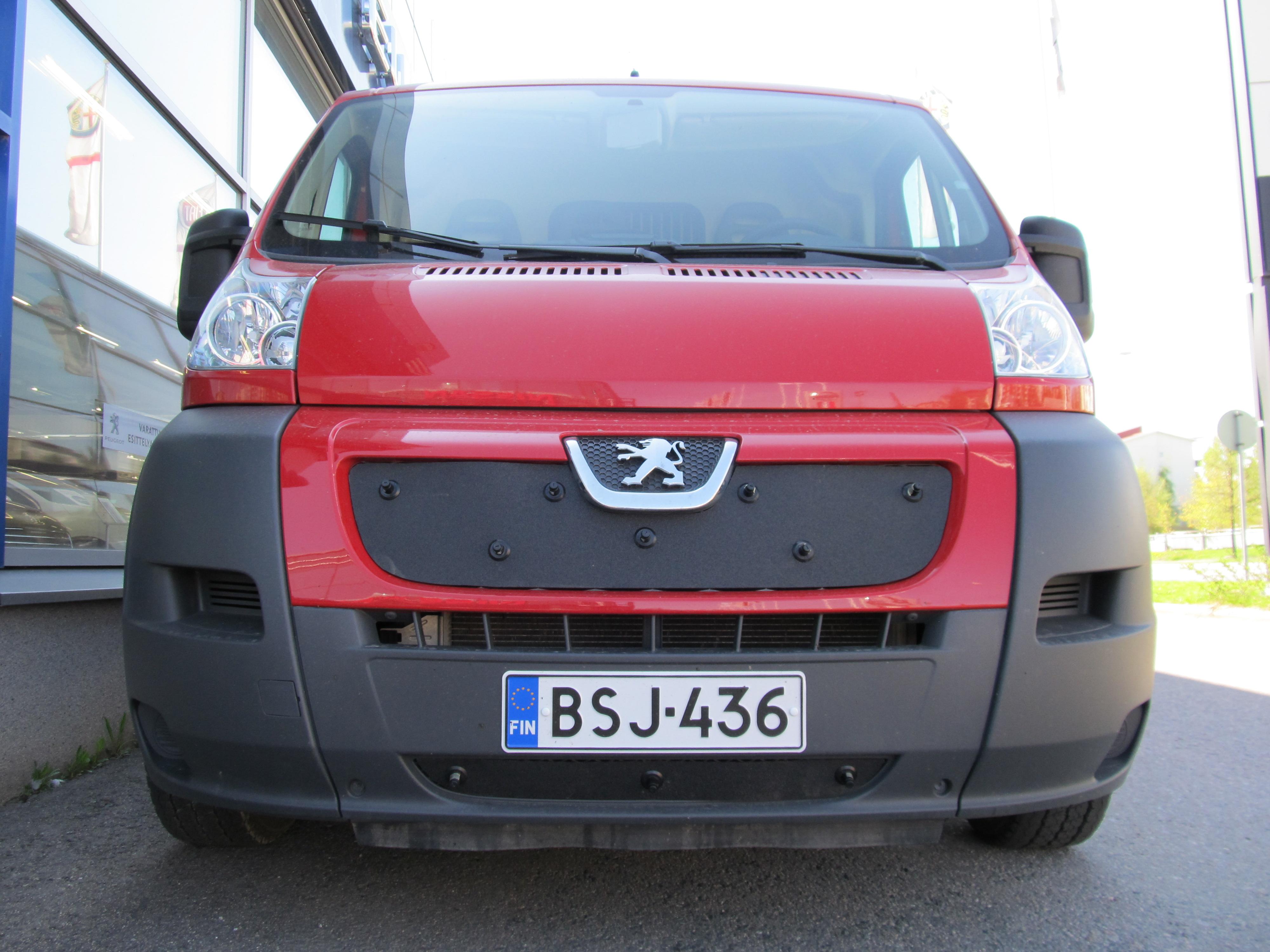 Maskisuoja Peugeot Boxer 2007-2013