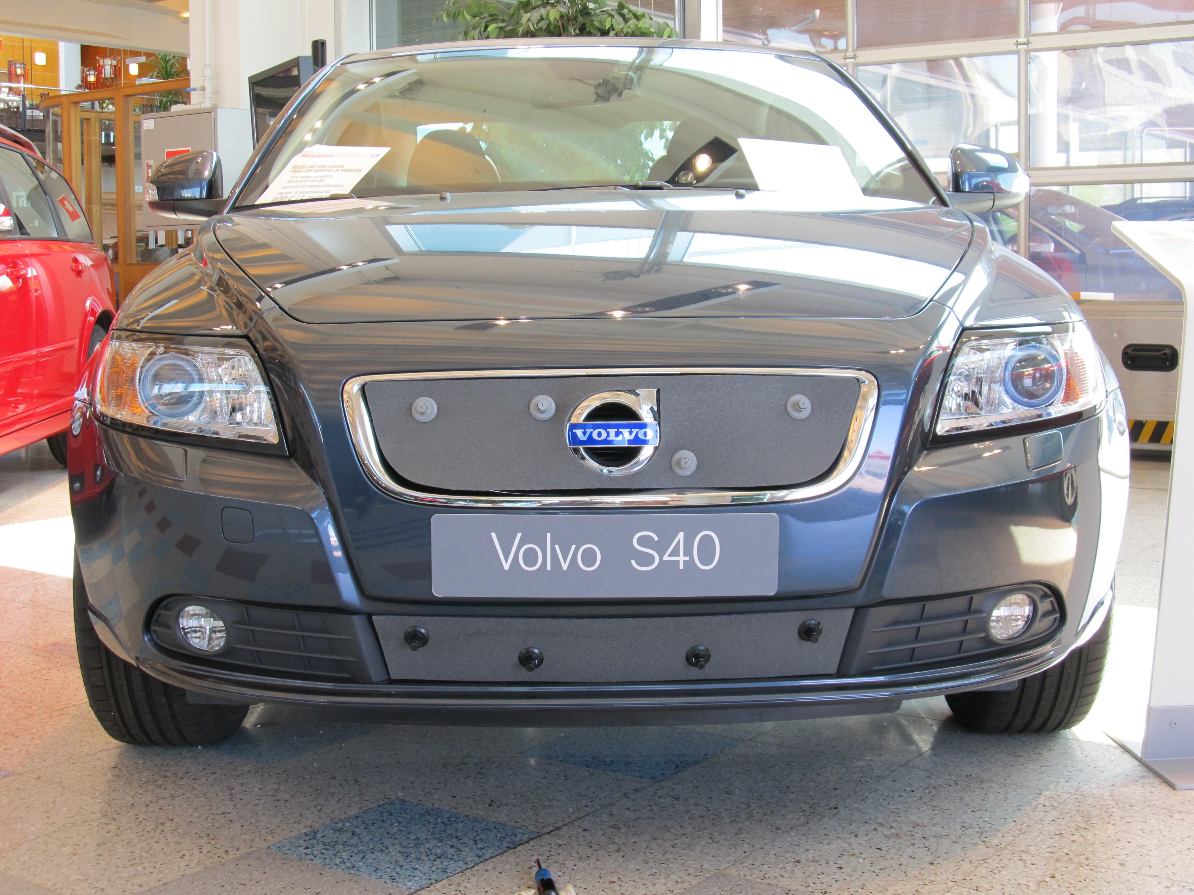 Maskisuoja Volvo S40 2010-2012, täysin avoin säleikkö