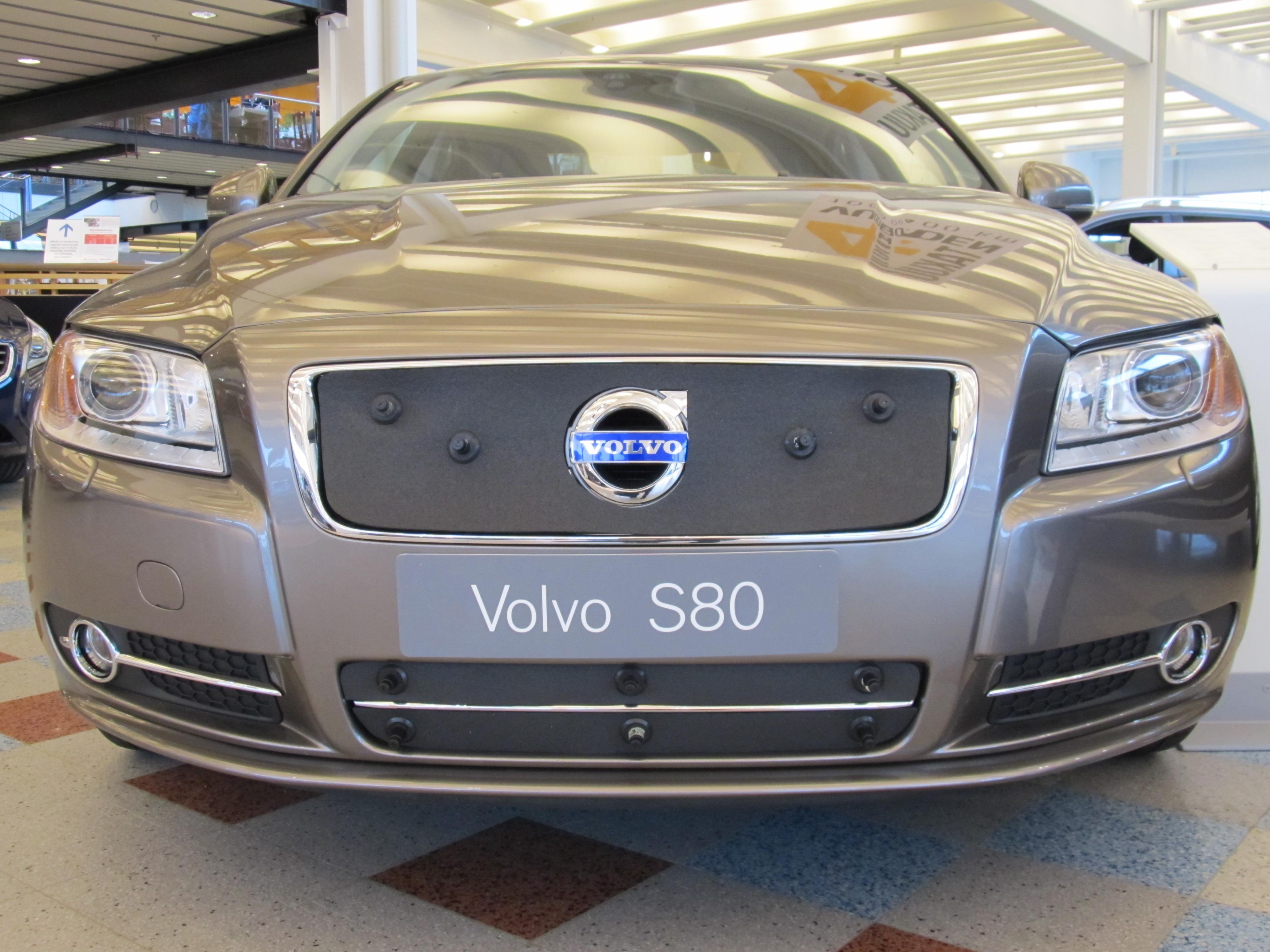 Maskisuoja Volvo S80 2007-2009 (Kopio)
