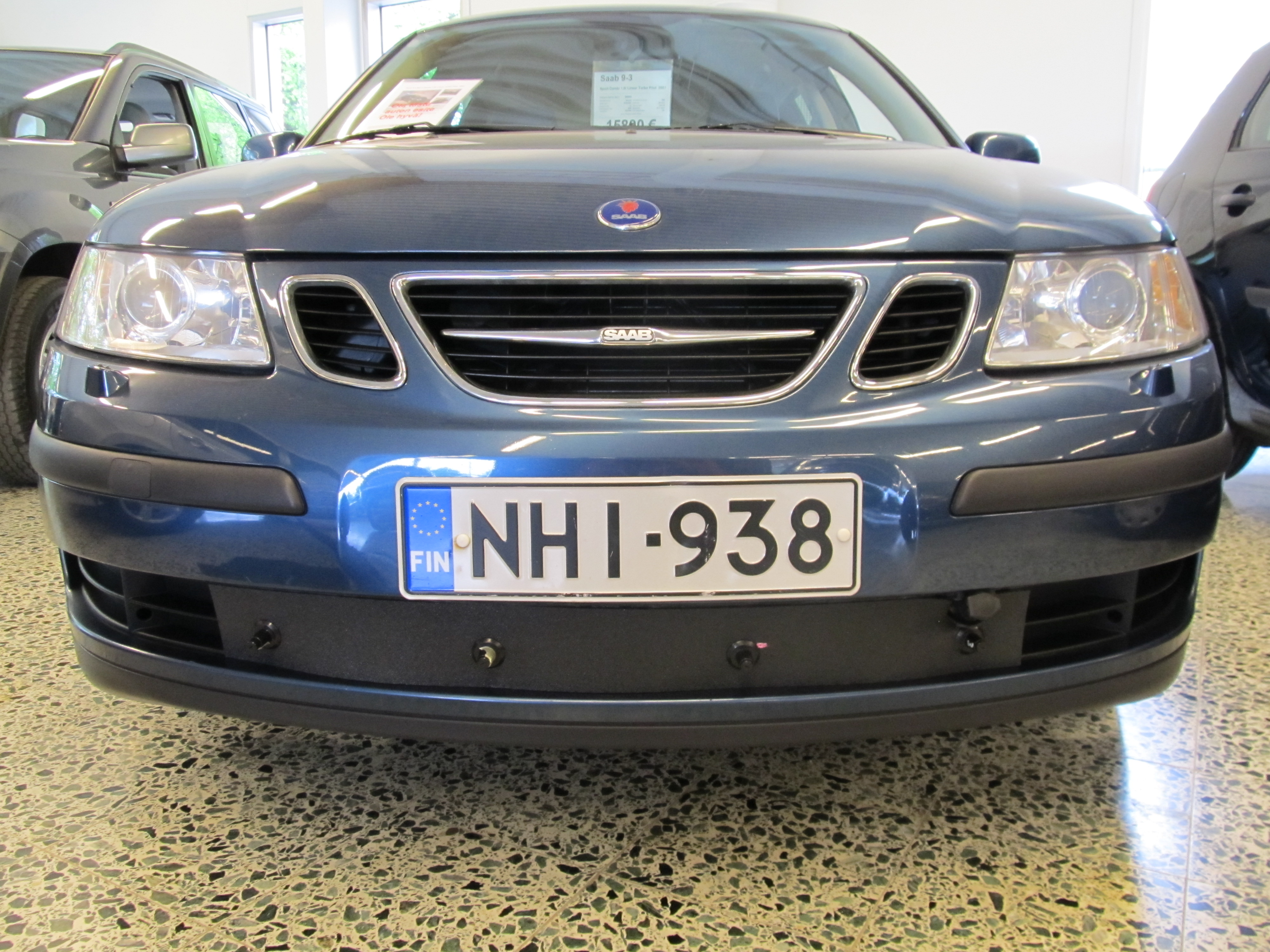 Maskisuoja Saab 9-3 2003-2007