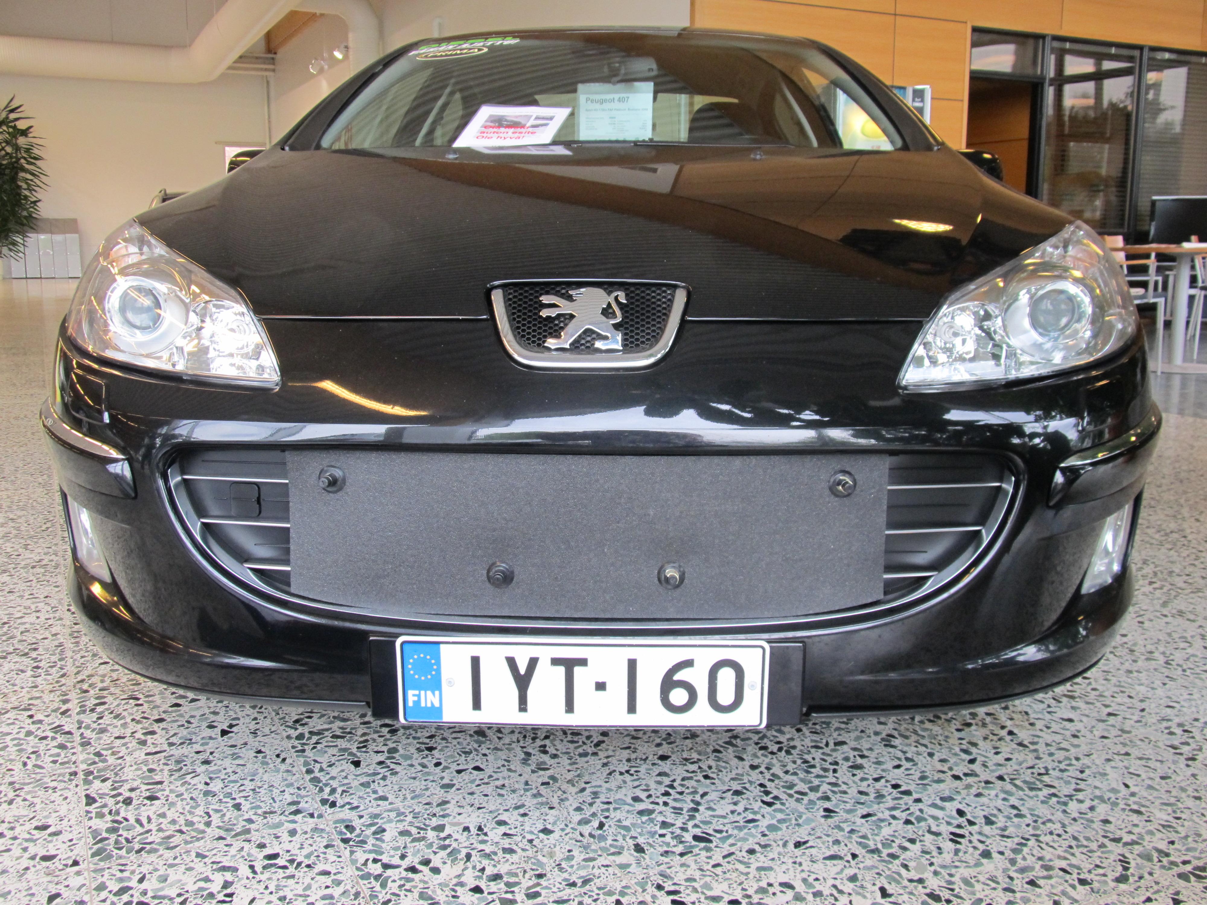 Maskisuoja Peugeot 407 2004-2010