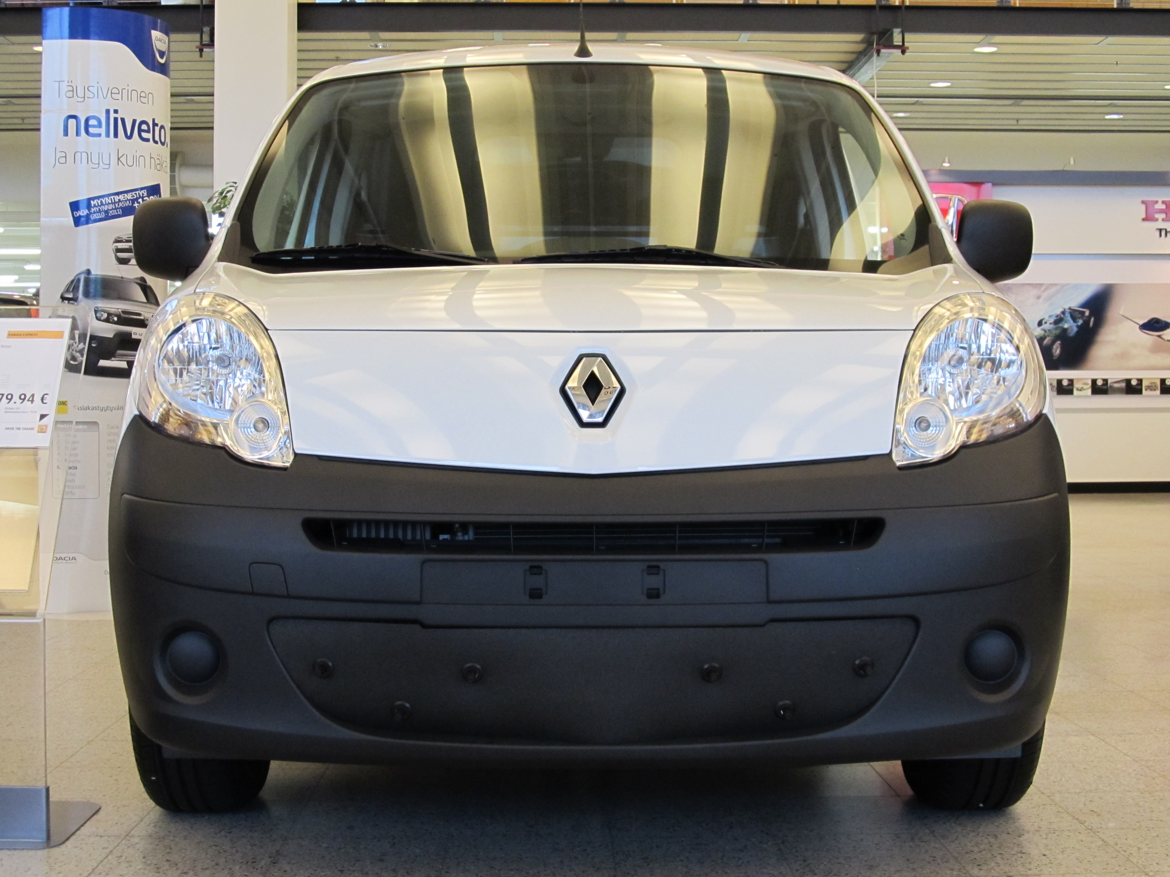 Maskisuoja Renault Kangoo 2014- (Kopio)