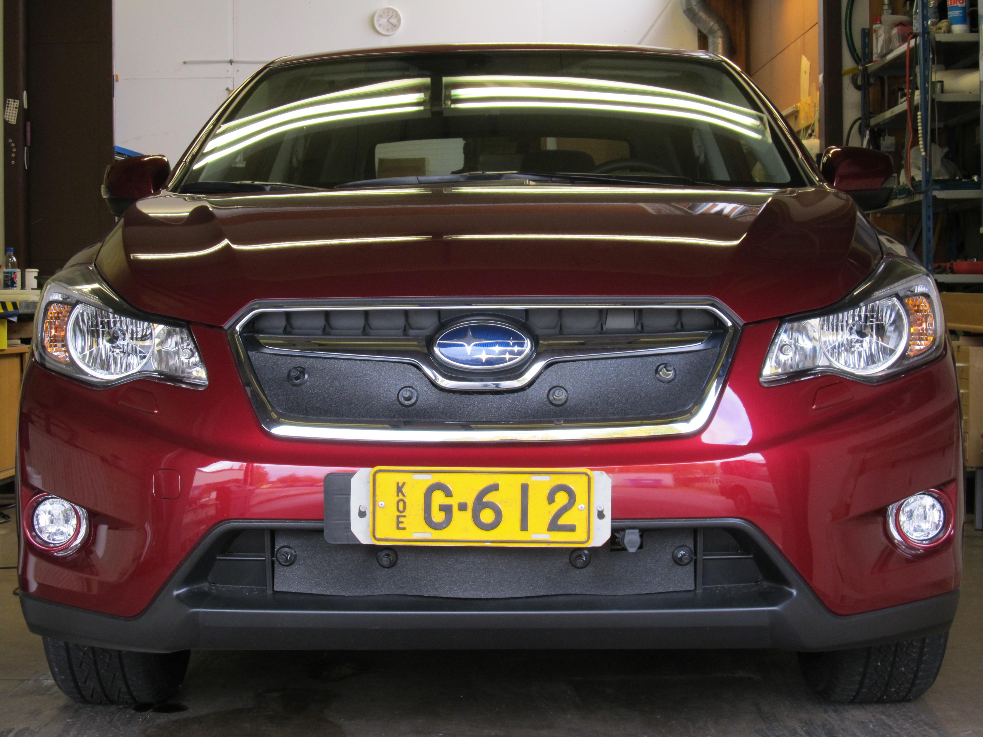 Maskisuoja Subaru Outback 2015-2017 (Kopio)