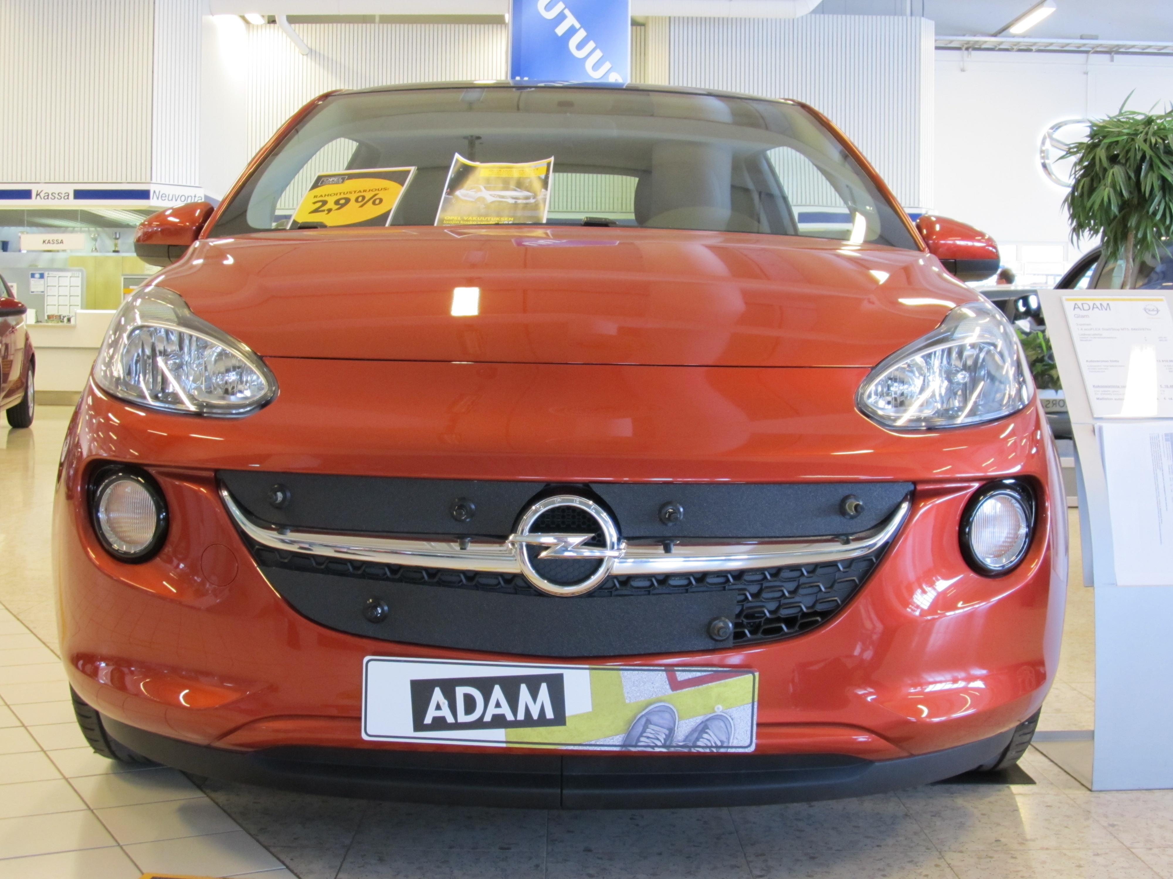 Maskisuoja Opel Adam 2013-