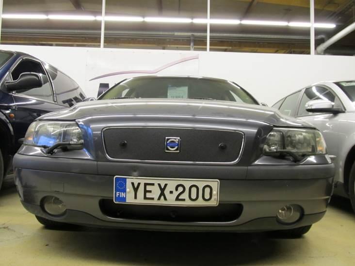 Maskisuoja Volvo S40 2010-2012, täysin avoin säleikkö (Kopio)