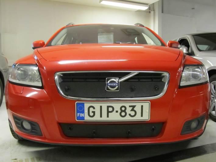 Maskisuoja Volvo V50 07-10, osittain umpinainen maski