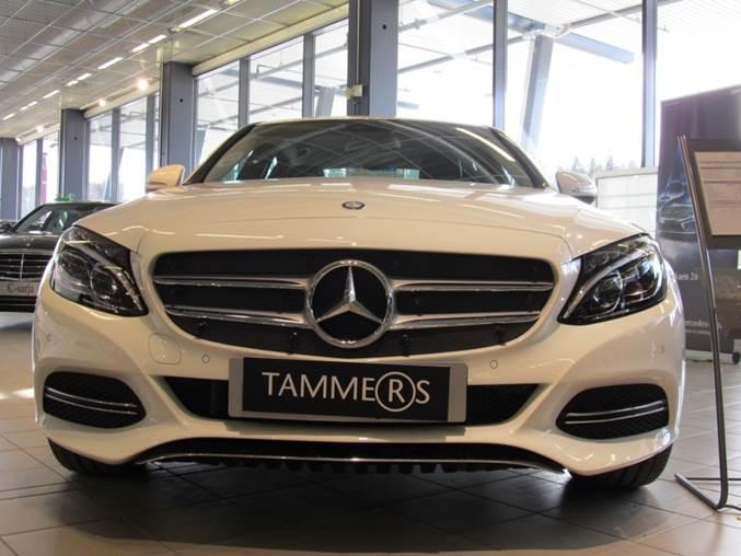 Maskisuoja Mercedes Benz C-sarja W205 2014-