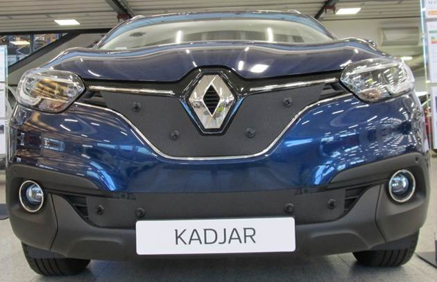 Maskisuoja Renault Kadjar 2015-
