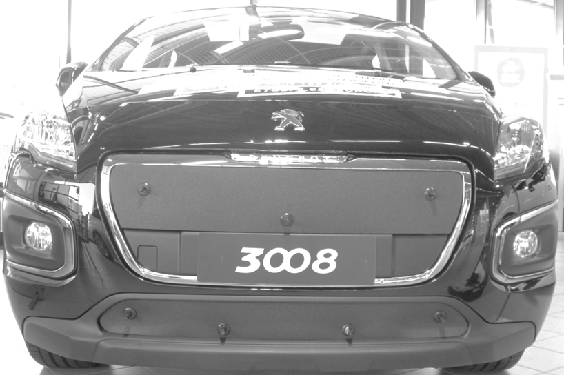 Maskisuoja Peugeot 3008 2014-