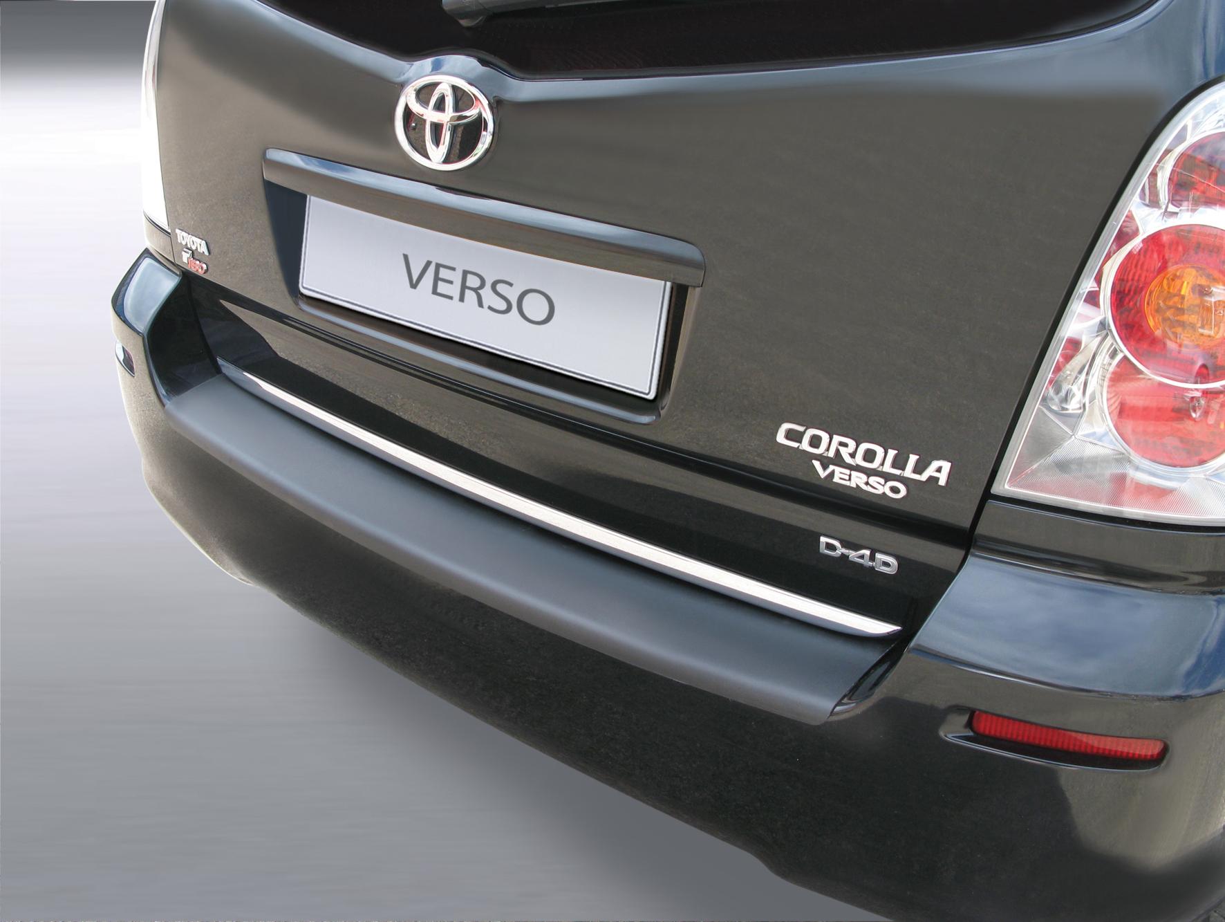 Takapuskurin kolhusuoja Toyota Corolla Verso 3/04-3/09