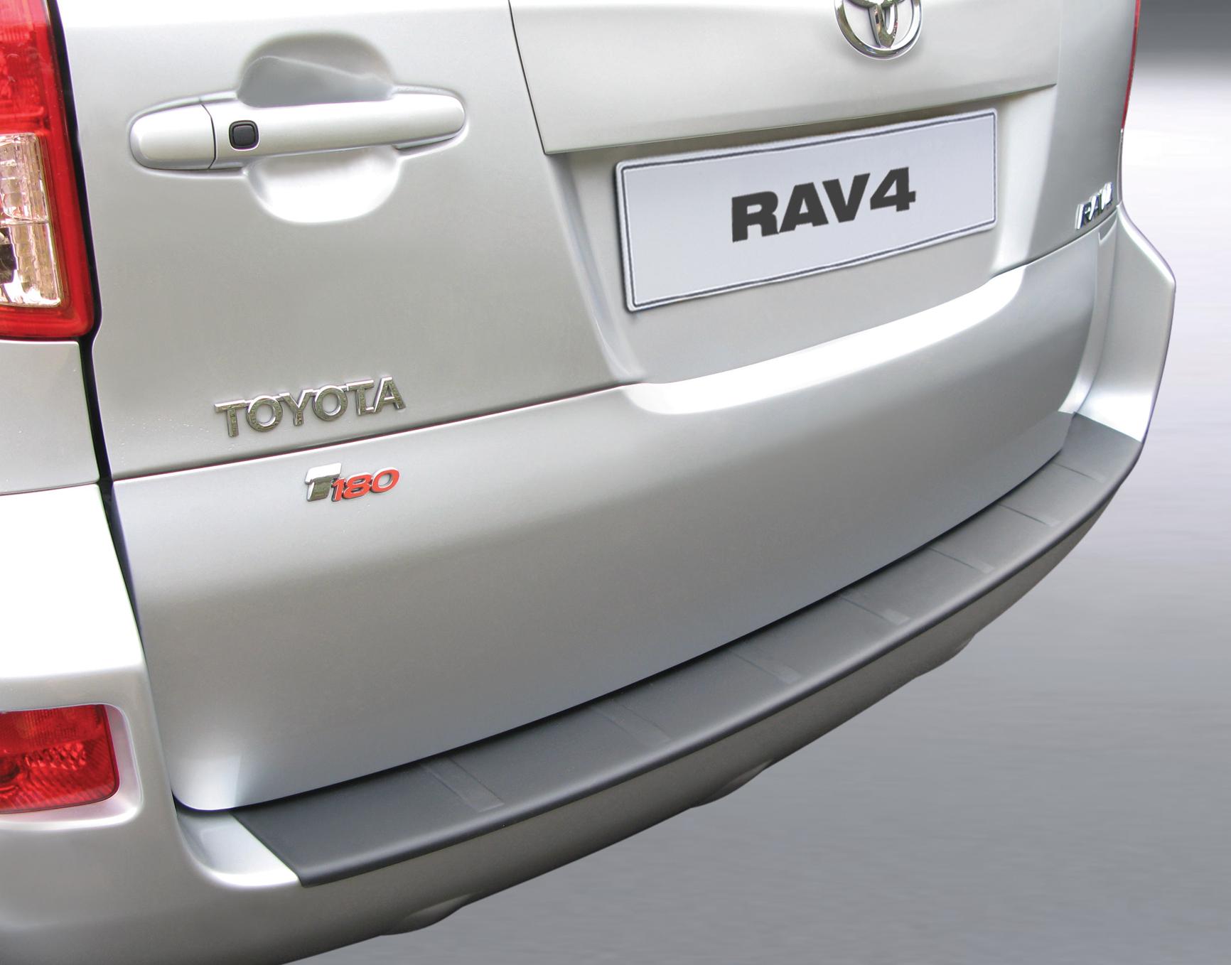 Takapuskurin kolhusuoja Toyota Rav4 08-13 (ILMAN VARARENGAST