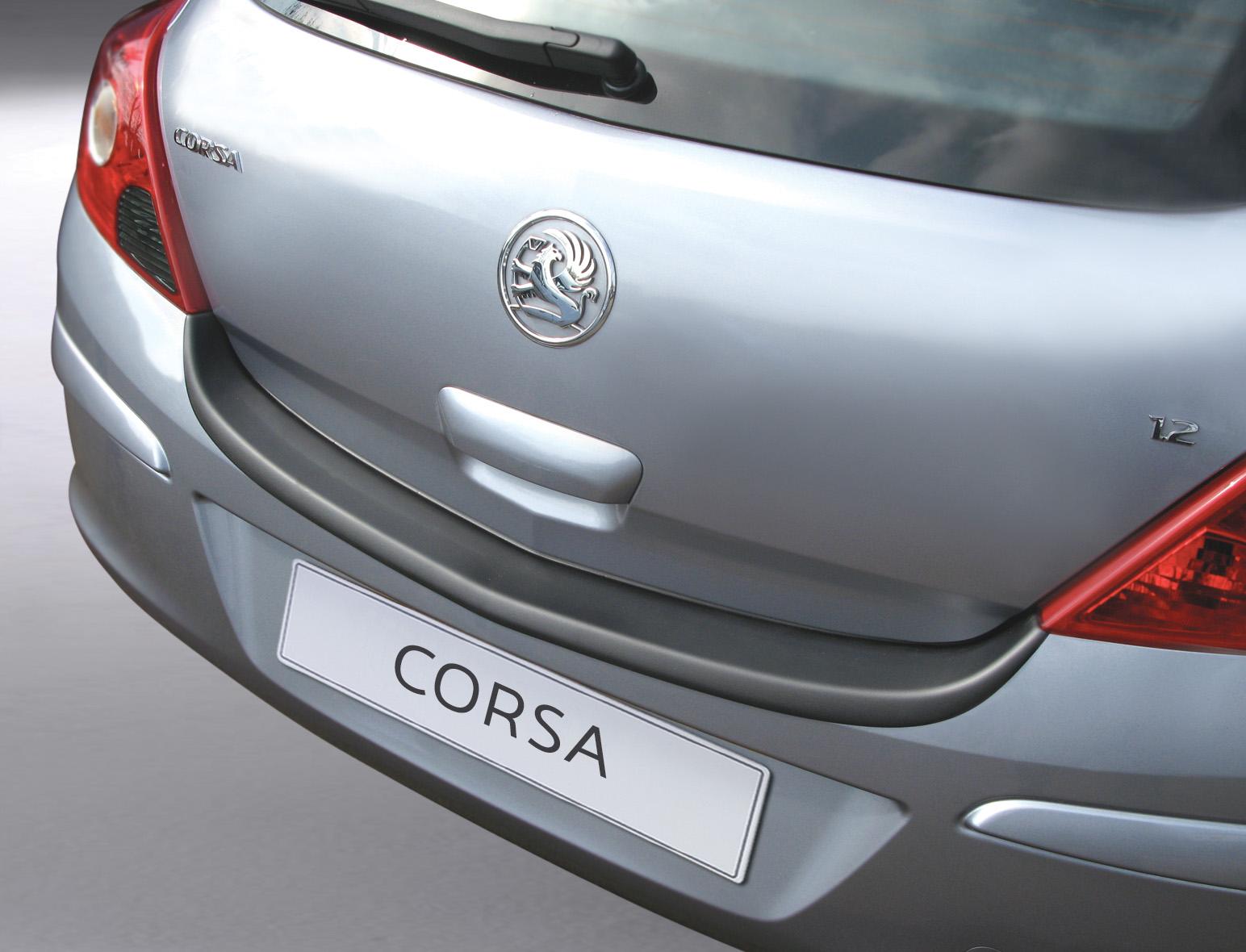 Takapuskurin kolhusuoja Opel Corsa D 3d 6/2006-
