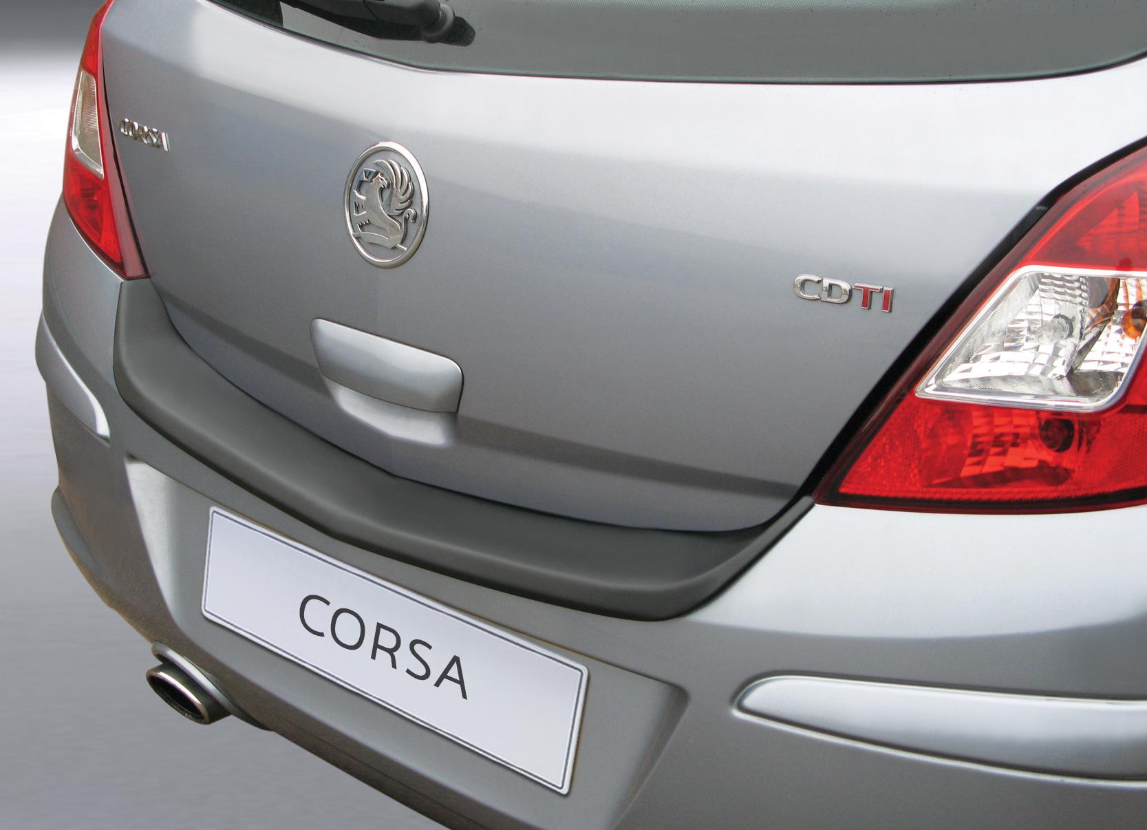 Takapuskurin kolhusuoja Opel Corsa D 5d 6/2006-
