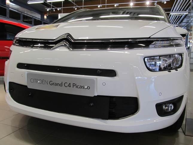 Maskisuoja Citroen C4 Grand Picasso 2014-2016