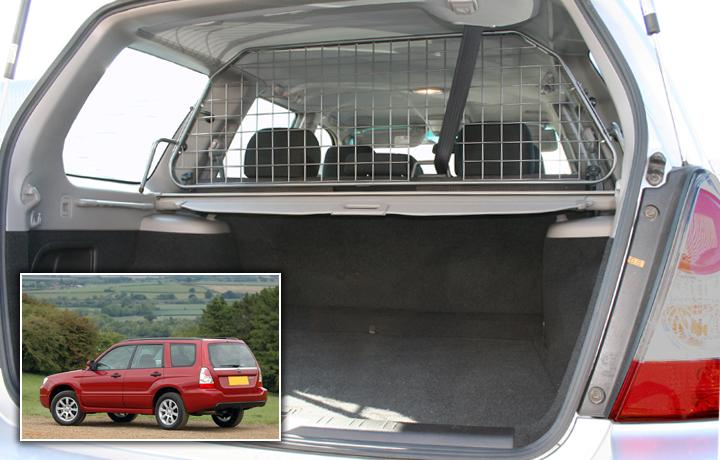 Koiraverkko Subaru Forester [SG] 2002-2008, ei kattoluukkua