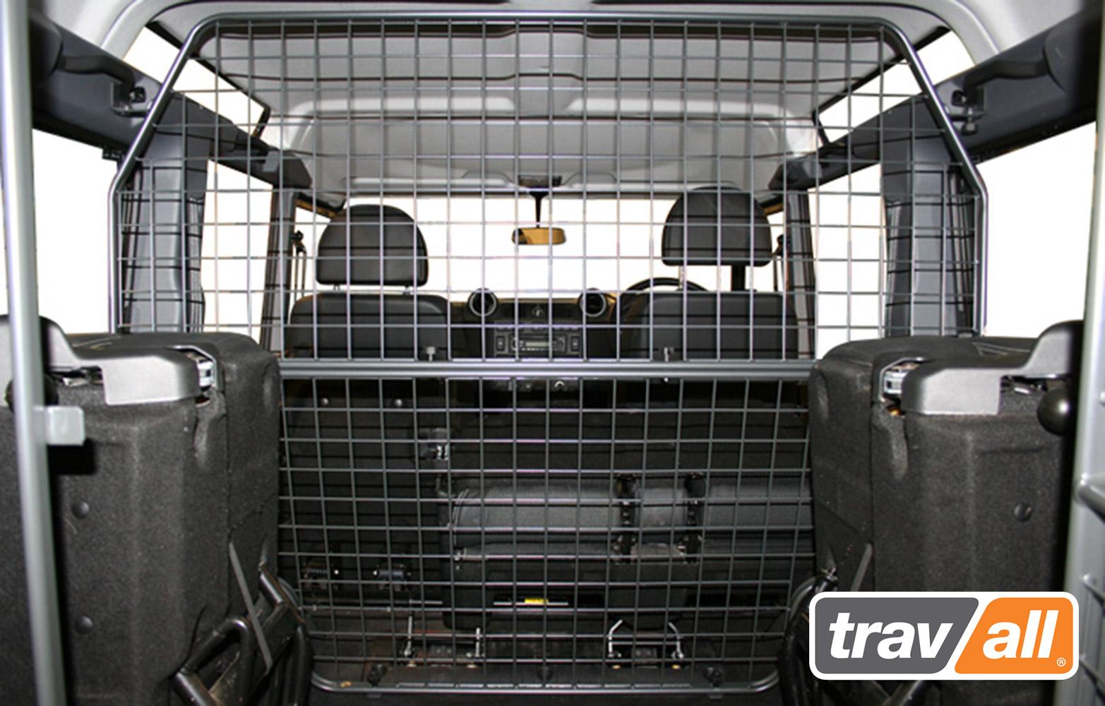 Koiraverkko Land Rover Defender 110 STW 2007- korkea malli