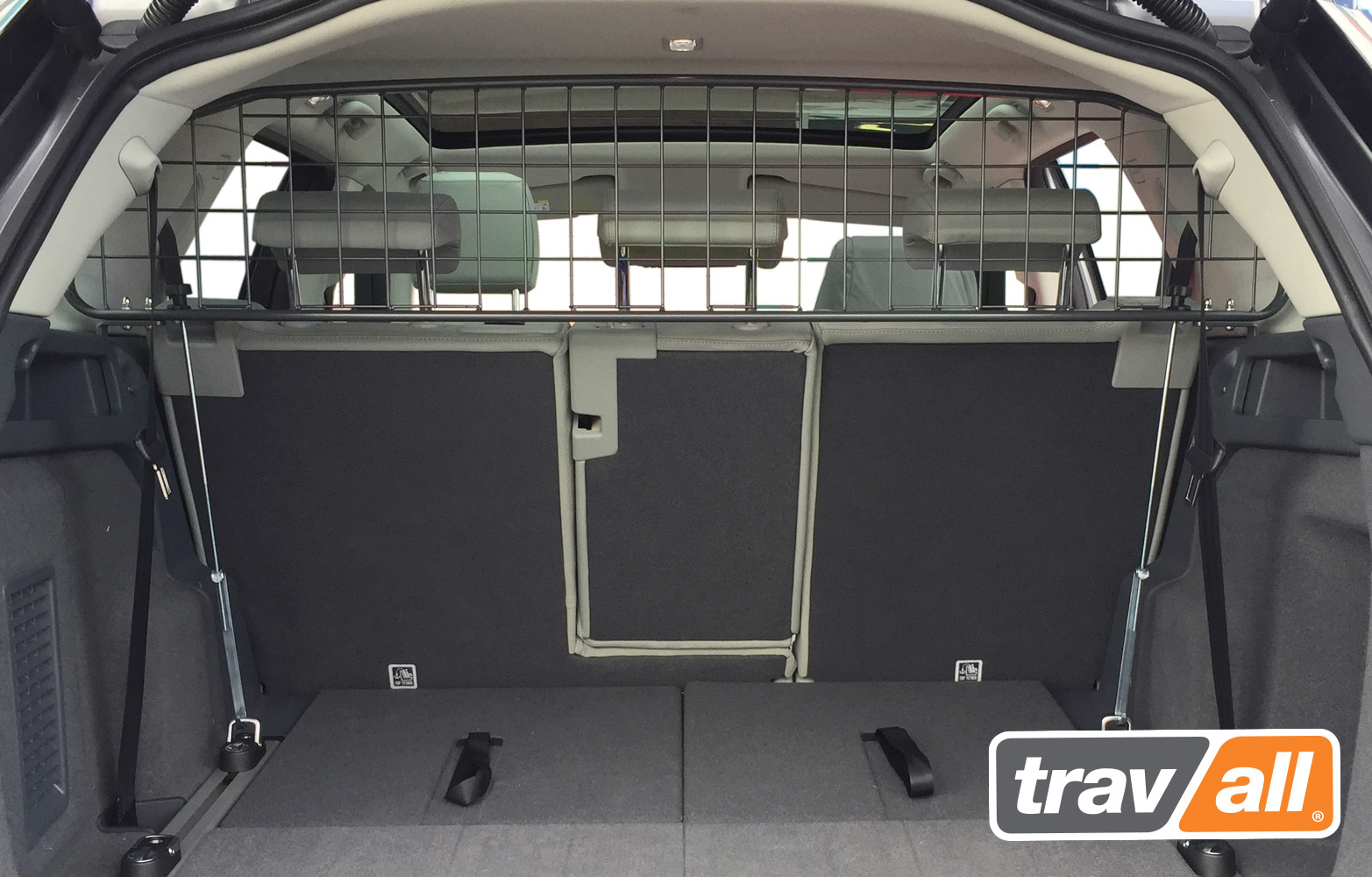 Koiraverkko Land Rover Discovery Sport 2015-, 7-paikkainen
