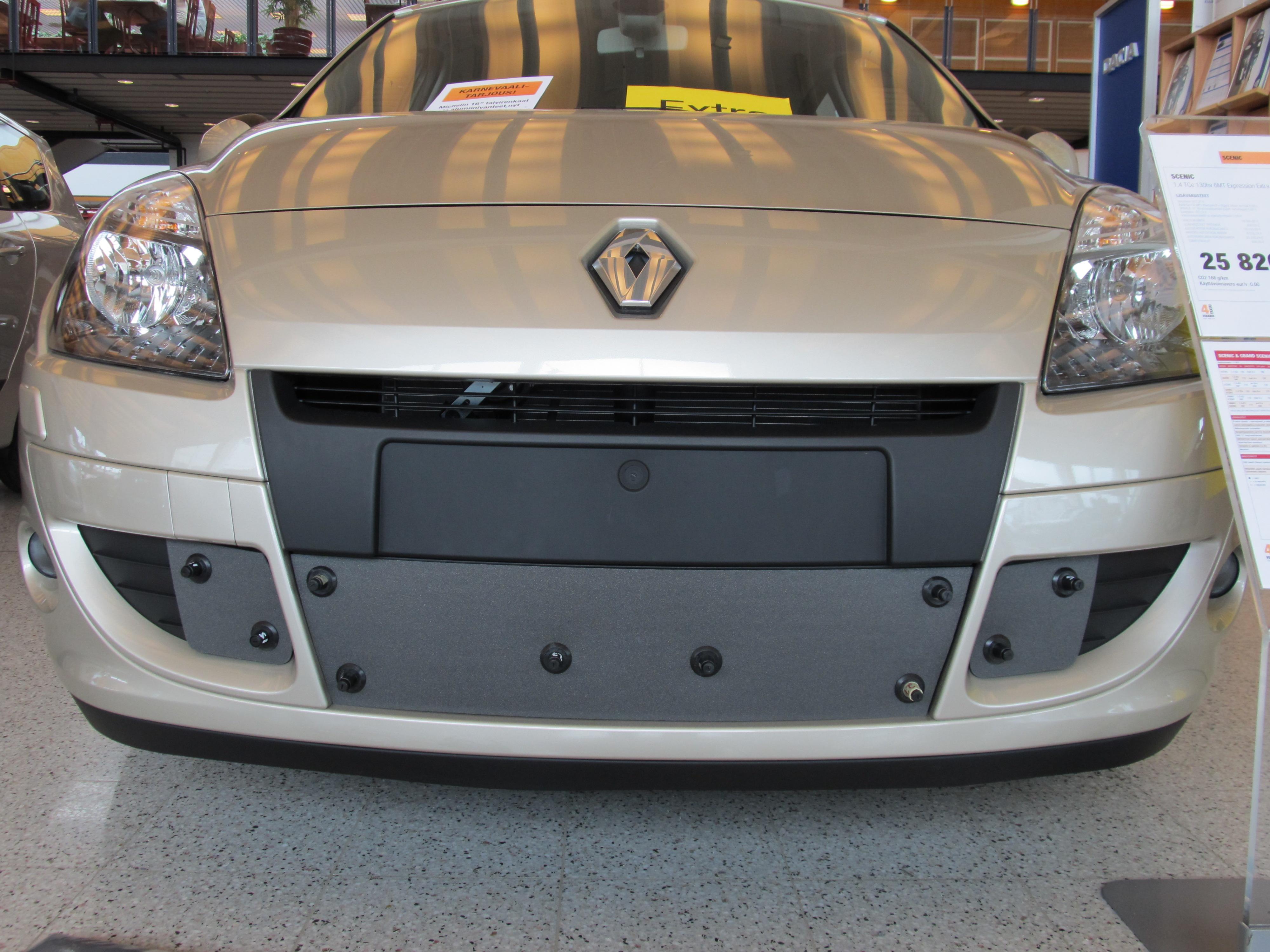Maskisuoja Renault Scenic 2009-