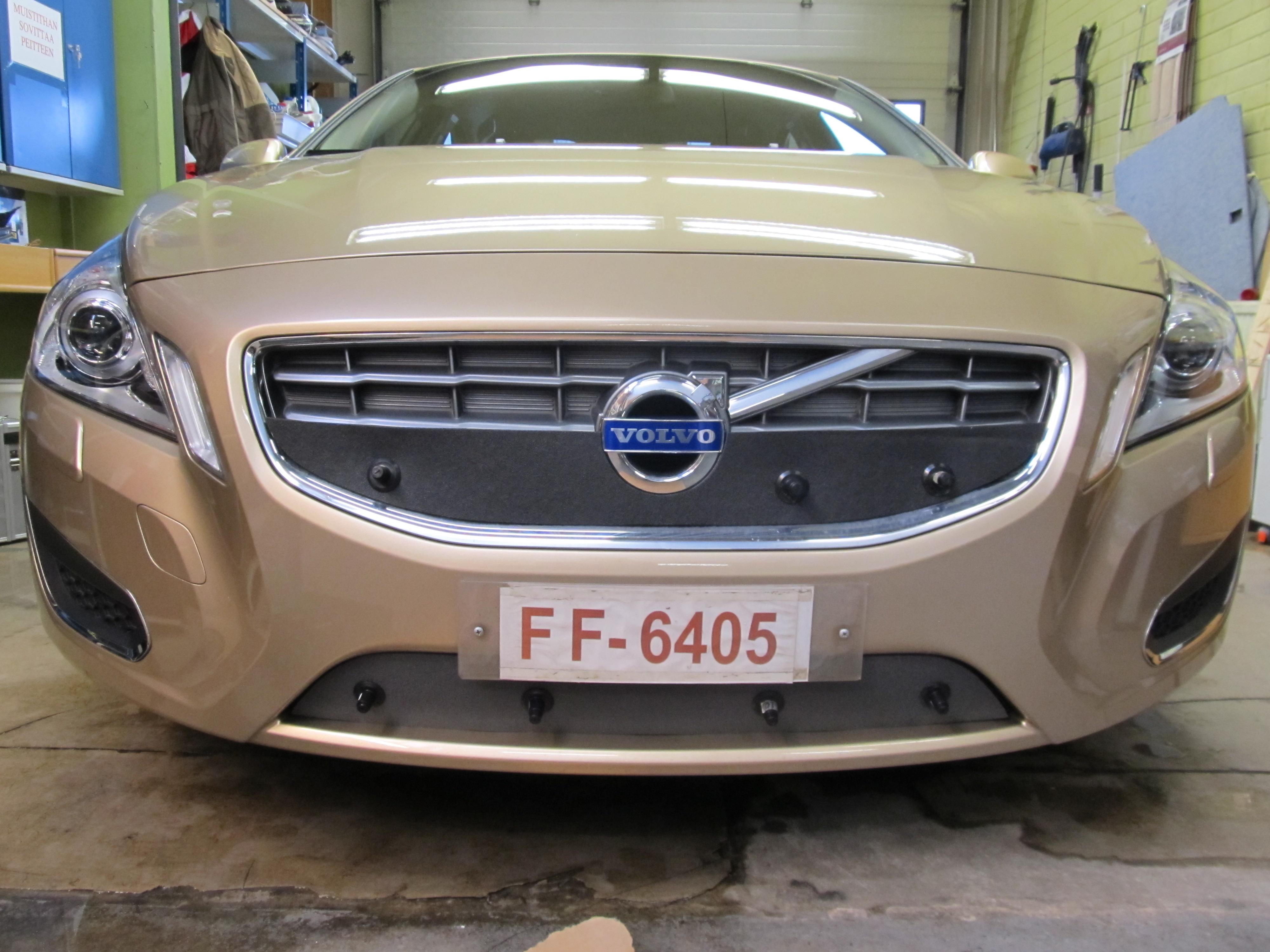 Maskisuoja Volvo S60/V60 CrossCountry 2016- (Kopio)