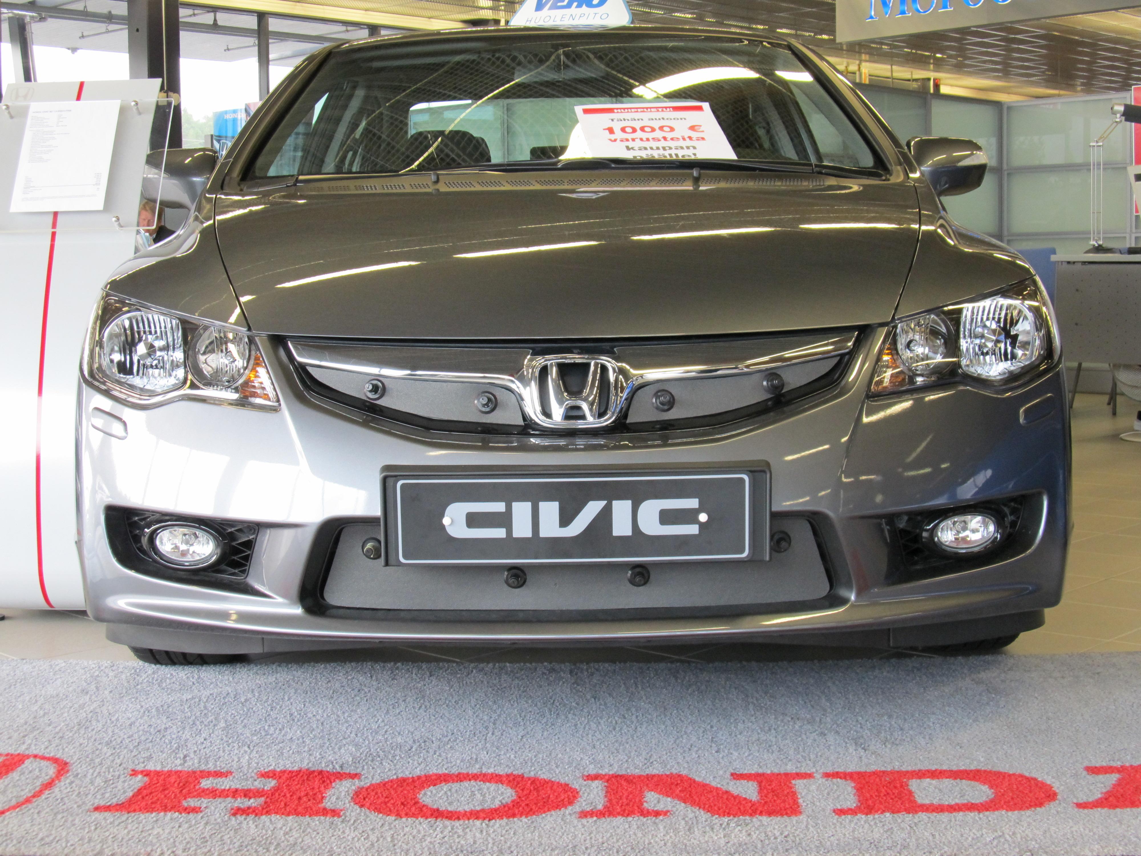 Maskisuoja Honda Civic 2008-